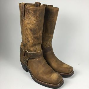 Frye Harness 12R Leather Boots